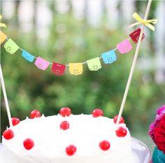fiesta cake bunting