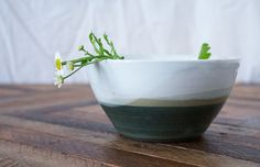 Spring Bowl by ChristiAhee on Etsy