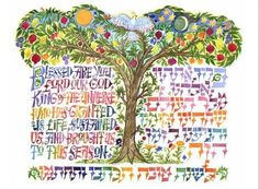 Jewish New Year - Rosh HaShanah Part 2 is the part of a 2 part series about the Jewish New year holiday. Jewish Crafts, Jewish Art, Religious Art, Arte Judaica, Simchat Torah, Ben Shahn, Jewish Festivals, Hebrew School, High Holidays