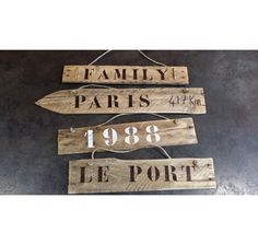 Signs, Decor, Recycled Products, Circular Economy, Floor, Decoration, Shop Signs, Decorating, Sign