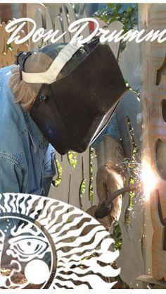 Don Drumm Studios & Gallery - Akron, Ohio - Fine Craft Gallery - Don Drumm Aluminum, Pewter, Steel