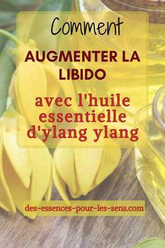 Avec l'huile essentielle d'ylang ylang, vous pouvez très facilement augmenter la libido et donner du pigment à votre vie intime.   Vous pouvez utiliser cette huile essentielle en massage, en bain aromatique ou en diffusion, le résultat est toujours garanti.   #ylangylang #libido #huileessentielle #sexualité #aromathérapie