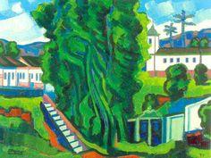 Paisagem de Mariana, 1977 Inimá de Paula (Brasil, 1918-1999) óleo sobre tela  69 x 90 cm