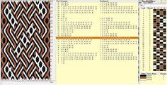 Diseño 32 tarjetas, 3 colores, repite dibujo cada 24 movimientos   // Cruzado1…