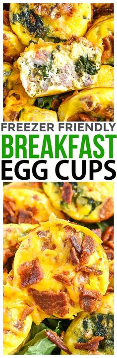 Serve Breakfast Egg Cups for Easter Brunch or make these easy baked egg muffins recipe for freezer friendly breakfast meal planning. via @CourtneysSweets #ad #simplyhatfield