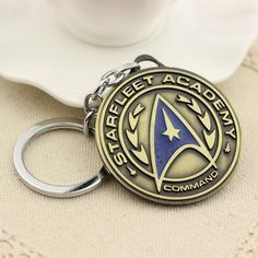 Expressive Cool Trek Metal Key Chian 2016 New Star Trek Spacecraft Action Figures Toys Gifts Party Supply Decoration Action & Toy Figures