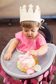 Nat your average girl...: Blair's First Birthday Pics