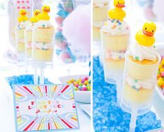 Find the Lucky Duck Push-Up Pops Featured on Pizzazzerie Great for Rubber Duck theme Baby Shower Carnival Birthday Parties, Circus Birthday, Boy First Birthday, Circus Party, First Birthday Parties, Birthday Party Themes, First Birthdays, Circus Theme, Birthday Ideas