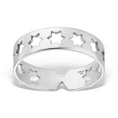 Inelul SACRED STARS din aur alb 14K este un inel elegant, cu o mulțime de stele care se așează delicat pe degetul tău. Comandă-l online de la IONA! #iona_jewelry #finejewelry #goldring #stars #aztec #madeinro #bijuteriiaur #ineleaur #inele #makegoldcoolagain #fabricatinromania Stele, Aur, Aztec, Jewelry, Bracelets, Silver, Fashion, Moda, Jewels