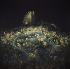 NATA,La parte buia del giorno,1989, cm140x140