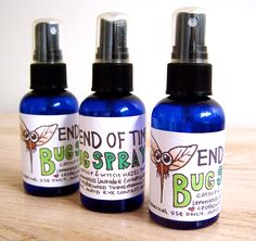 Home made bug spray. 10x stronger than deet.