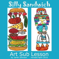 This art lesson plan can be taught by sub, classroom and art teachers. It is an open ended, creative and fun lesson for students of any grade.