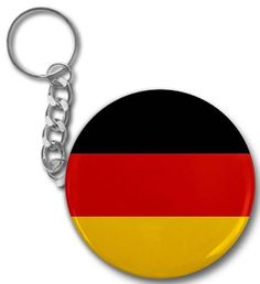Creative Clam Germany World Flag 2.25 Inch Button Style Key Chain by Creative Clam. $4.25. This 2.25 inch Button Style Key Chain makes a great gift for yourself or someone you know. ~ This artwork can also be featured on some or all of the following products offered by Creative Clam ~ Coffee Mugs | License Plates | Patches | Ornaments | Earrings | Fridge Magnets | Bottle Openers | Buttons | Pocket Mirrors | Dog Tags | Shoe Tags | Pendants | Zipper Pulls | Bandanas | Lanyards | Bu...