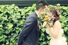 2shot / ツーショット / ドレス/ crazy wedding / ウェディング / 結婚式 / オリジナルウェディング/ オーダーメイド結婚式/ブーケ / buquet