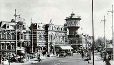 Hotel de Klanderij Met de watertoren in de jaren 50.