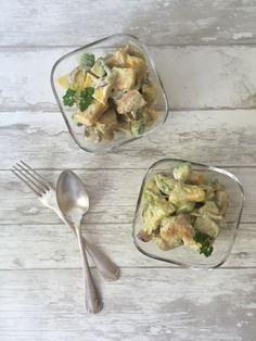 Low Carb Rezepte: Hähnchensalat mit Avocado und Mango