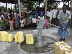 Water well was installed in Bukenke Village in Eastern Uganda, thanks to funds raised through Project Lydia!