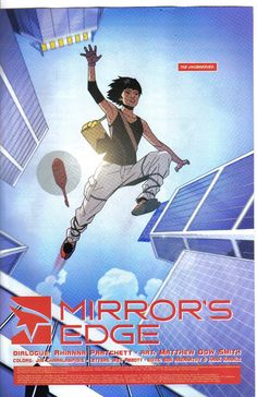 """Mirror's Edge Comic Book"""