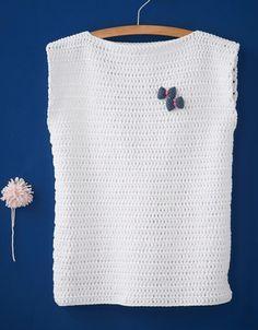 Modèle pull au crochet Femme
