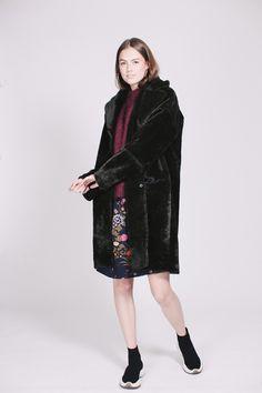 Myra Coat - Rifle Green by Second Female Fur Coat, Coats, Female, Green, Jackets, Fashion, Down Jackets, Moda, Wraps