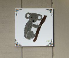 Koala #2 Fabric Wall Art by CottonwoodCove on Etsy