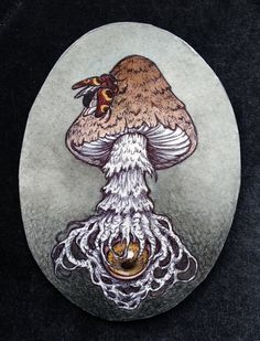 """Mycological Visions""  2014 by Caitlin Hackett"