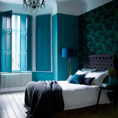 22 Sweet and Most Romantic Bedroom Furniture Ideas - bedroom furniture ideas Window Shutters Inside, Interior Window Shutters, Interior Windows, Wooden Shutters, Bedroom Furniture, Bedroom Decor, Furniture Ideas, Shabby Bedroom, Bedroom Sofa