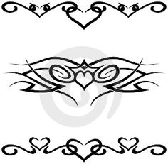 small tribal tattoos | Tribal tattoos also available in high resolution image in .JPG format ...