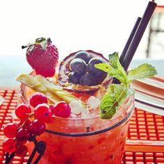cocktail di frutta - Singita, Fregene Italy, Rome