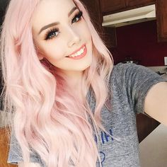Arctic fox hair color in virgin pink