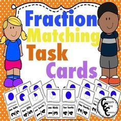 Fraction Matching. This product challenges students to match visual fractions with their numerical match. This activity is great for independent work or teacher table work. There are a total of 44 different fractions for students to work with. Fractions included are: *2/2, 1/2 *3/3, 2/3,1/3 *4/4, 3/4, 2/3, 1/3 *5/5, 4/5, 3/5, 2/5, 1/5 *6/6, 5/6, 4/6, 3/6, 2/6, 1/6 *7/7, 6/7, 5/7,...