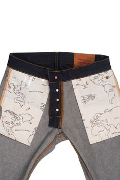 A great pair of jeans inspired by vintage military trousers, these guys are…