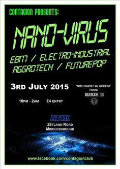 Nano-Virus @ Atik, Middlesbrough.