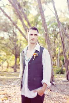 Groom#Vintage boho wedding ...Wedding App for brides & grooms, bridesmaids & groomsmen, parents & planners ... the how, when, where & why of wedding planning ... https://itunes.apple.com/us/app/the-gold-wedding-planner/id498112599?ls=1=8  ♥ The Gold Wedding Planner iPhone App ♥