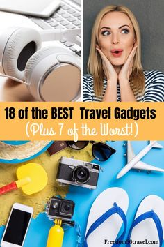 All of the best (and some of the worst!) travel gadgets, accessories and tech for men, women and kids! Super useful for international flights, business trips and road trips! Packing Tips For Travel, Travel Essentials, Best Travel Gadgets, Travel Hacks, Cruise Tips, Cruise Vacation, Disney Cruise, Vacation Destinations, Vacation Travel
