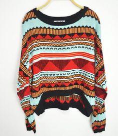 $33.00 | Pope Wind Triangle Totem Sweater