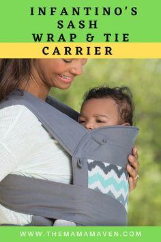 Infantino's EcoSash Wrap & Tie Mei Tei Carrier: Wrap it Up Baby! Cool Baby Stuff, New Moms, Wraps, Super Cute, Parenting, Babies, Tie, Children, Young Children