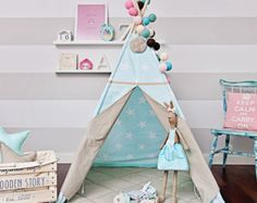 Marvelous Childrenu0027s Playtent Tipi Wigwam Teepee By Ateliermonpetitlapin Idea