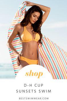 2c90d9348 Shop D-H Cup Swimwear by Sunsets at Bestswimwear.com Full Bust Swim # bestswimwear D
