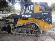 John Deere 333D Skidsteer - Nothing runs like a Deere, because nothing is built like one. Has only 158 hours and is like brand new. Still under warranty. Owner is retiring from the landscape business and is selling surplus equipment. Asking $55,000 or make an offer. Call 228-392-8777. With more breakout force, tractive effort, ground speed, and bucket capacity, all D-Series Compact Track Loaders deliver unmatched performance in virtually every significant category.