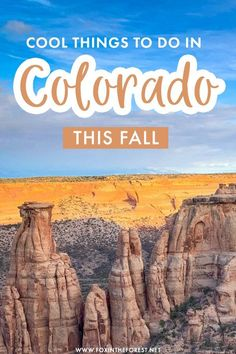 Colorado is one of the best Fall destinations in the USA for outdoors and fall foliage colors, so if you're wondering where to go in Colorado in Fall, here is a list of amazing things to do in Colorado whether you're on a fall road trip through Colorado or looking for cool weekend getaway ideas from Denver! #Colorado