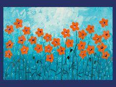36 Original Modern Heavy Texture Impasto Palette by QiQiGallery, $295.00