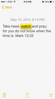 #The Word #watch