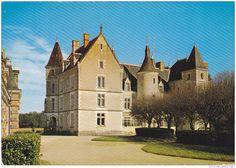 Frankreich - Villedieu sur Indre (36) - Le Château de Chamousseau vu de l'Ermitage