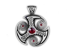 Трефот или Скандинавский трискелион   один из самых известных амулетов в Скандинавии. Он изготавливается из трех спиралей и символизирует царство бытия. Такой талисман поможет своему хозяину добиться поставленной цели.