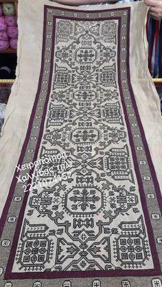 Bohemian Rug, Diy And Crafts, Cross Stitch, Rugs, Farmhouse Rugs, Punto De Cruz, Seed Stitch, Cross Stitches, Rug