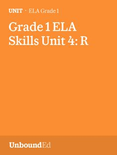 (Skills U4) In this unit we introduce the sounds that are sometimes called the /r/-controlled vowel sounds and the most common spelling for each sound.