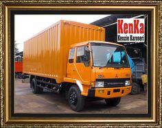KAROSERI BOX BESI >> KAROSERI KENKA Container Food, Mitsubishi Truck, Mixer, Diesel, Trucks, Box, Vehicles, Diesel Fuel, Snare Drum