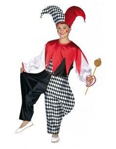 DisfracesMimo, disfraz de arlequin con rombos niños varias tallas.Con este mono de satén, el disfraz de arlequin niño no pasara desapercibido en las fiestas de disfraces.Este disfraz es ideal para tus fiestas temáticas de disfraces de payasos del circo,bufones y arlequines para niños infantiles.