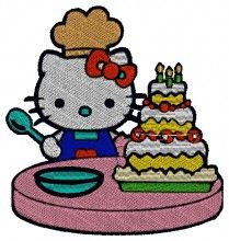 Great Sheff Kitty Embroidery brother free machine embroidery downloads